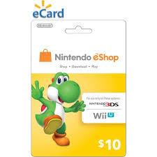 eshop gift cards nintendo eshop 10 email delivery walmart