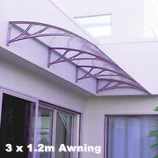 Awnings Bunnings Diy Clear Polycarbonate Awning 1m X 80cm New Bunnings Ebay