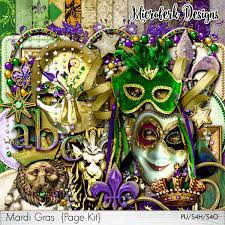 mardi gras shop oscraps digital scrapbook store scrapbooking all new