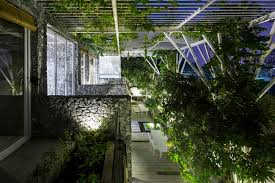 gallery of vegetable trellis cong sinh architects 9