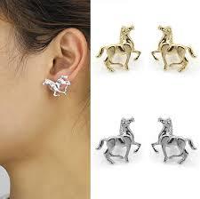 cool stud earrings aliexpress buy trusta 2017 new fashion cool gold silver tone