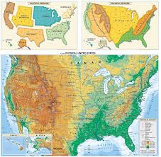 Topographic Map Usa by Maps Usa Map Geography