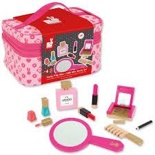 Little Girls Play Vanity Little Miss Vanity Case 9 Pc Girls Beauty Bag Play Set