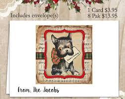 scottie dog card etsy