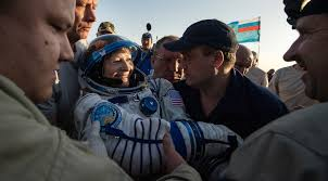 soyuz brings whitson home after record setting mission