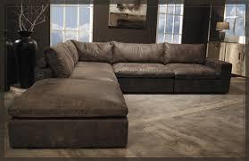 sofa leder l ancora collection leder elementen hoekbank met africaleder