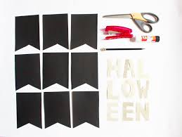 how to make a halloween banner how to make a halloween party banner