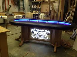 Texas Holdem Table by Hand Crafted Texas Holdem Table By Raw Creations Cnc Custommade Com
