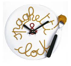 Pendule Murale Cuisine by Horloge Murale Originale Spaghettis Clock