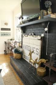 Diy Fireplace Cover Up Diy Faux Stacked Wood Fireplace If You Don U0027t Have A Working