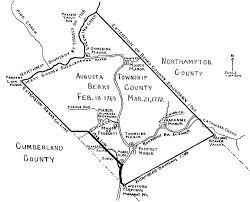 map of berks county pa augusta township berks county berks history center