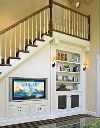 creative built in under stair storage solutions http