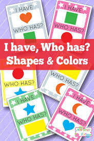 418 best teaching shapes and colors images on pinterest