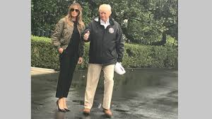 melania trump s office slams media for focus on her shoes during