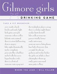 printable drinking games for adults gilmore girls drinking games free printable hey let s make stuff