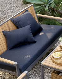 Deck Chair Cushions Outdoor Furniture For Patios And Decks Crate And Barrel