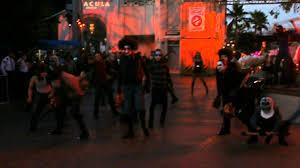 halloween horror nights hollywood california the purge opening