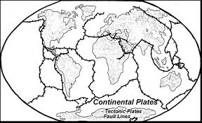 Blank Map Of Tectonic Plates by Lidar Mapping Of Faults In Houston Texas Usa Geosphere Earthquake
