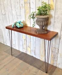 Hairpin Leg Console Table Add 3 Drawer Retro Console Table To Your Living Room U2013 Furniture Depot