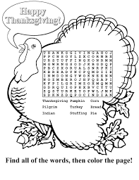 thanksgiving word scrambles printable word searches for kids activity shelter