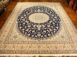 La Rugs Fine Persian 6 La High Kpsi Silk And Wool Rugs From Nain Iran