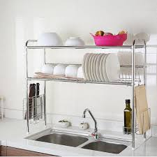 over the sink dish drying rack 11 clever ways to declutter kitchen counters declutter clever and