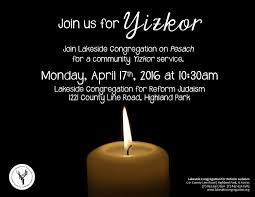 yizkor prayer in yizkor service kiddush lakeside congregation