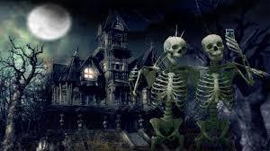 happy halloween graveyard background halloween haunted house wallpaper wallpapersafari