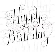 happy birthday lettering skillshare projects