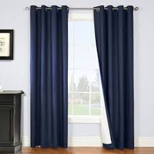 Navy Blackout Curtains Buy Navy Blackout Curtains From Bed Bath Beyond