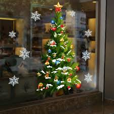 removable wall murals large promotion shop for promotional fashion home decoration bedroom accessories 50 70 cm large green christmas tree stars removable wall stickers art decals mural
