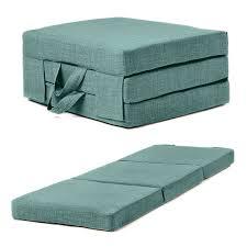 Folding Single Bed Fold Out Guest Mattress Foam Bed Single Sizes Futon Z Bed