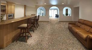Rust Oleum Epoxyshield Basement Floor Coating by Man In Yellow Applies Blue Epoxy Paint To Basement Floor Basement