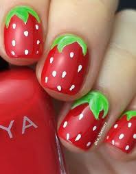best 20 strawberry nail art ideas on pinterest u2014no signup required