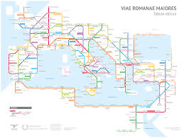 Chicago Map Poster by Roman Roads U2013 Sasha Trubetskoy