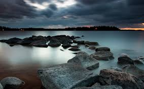 rocky shore wallpapers beach at night wallpapers download free page 2 of 3 wallpaper wiki