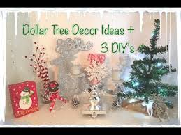 dollar tree christmas decor ideas 3 easy diy u0027s youtube