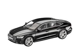 scale model of 2018 audi a7 sportback leaks ahead of official