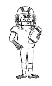 best 25 football player drawing ideas only on pinterest