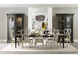 hooker furniture dining room auberose rect leg dining table w 2