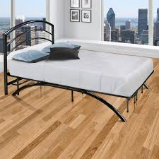 Twin Bed Frame With Mattress Zinus Platform 1500 Twin Metal Bed Frame Hd Asmp 15t The Home Depot