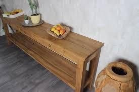 teak wood side table pilot side table teak wood inc onderplank and drawers wiegersxl