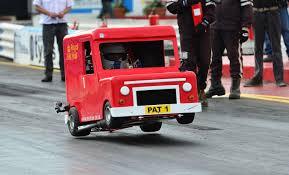 worlds fastest postman pat van nsra rod drags 2012