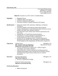 Sample Resume For Registered Nurse With No Experience by Lvn Resume No Experience Lvn Resume Template Free Resume Templates