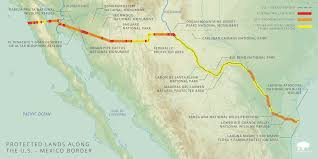 Colorado River Texas Map by Ecosystems Divided The Border Wall U0027s Devastating Environmental
