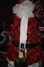 santa themed christmas tree rainforest islands ferry