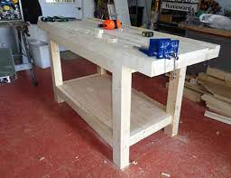 Woodworking Bench Top by Christine Demerchant Builds New Workbench Part 4 Installing