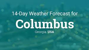 Georgia travel forecast images Columbus georgia usa 14 day weather forecast php