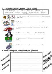 jobs worksheet grade 2