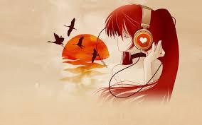 anime music girl wallpaper free anime music wallpapers wide at movies monodomo